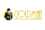 Goldman Casino  Bonus Code - $300 Welcome45 Free Spins on multiple games