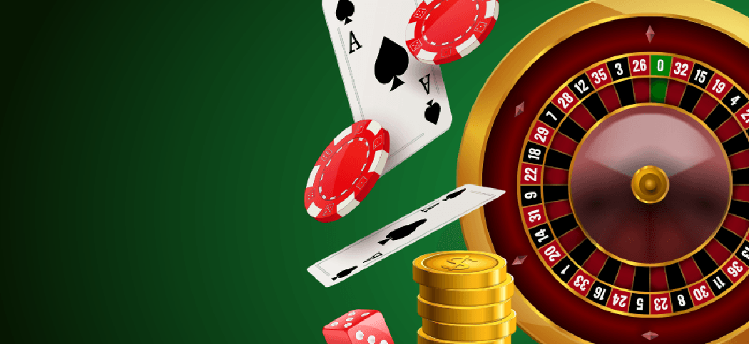 Poker chips vector free