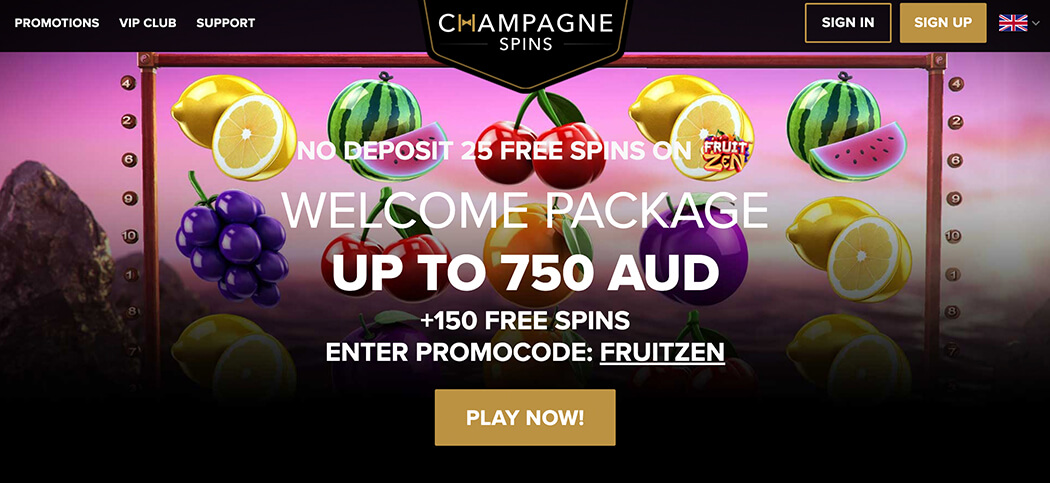 Champagne Spins Casino